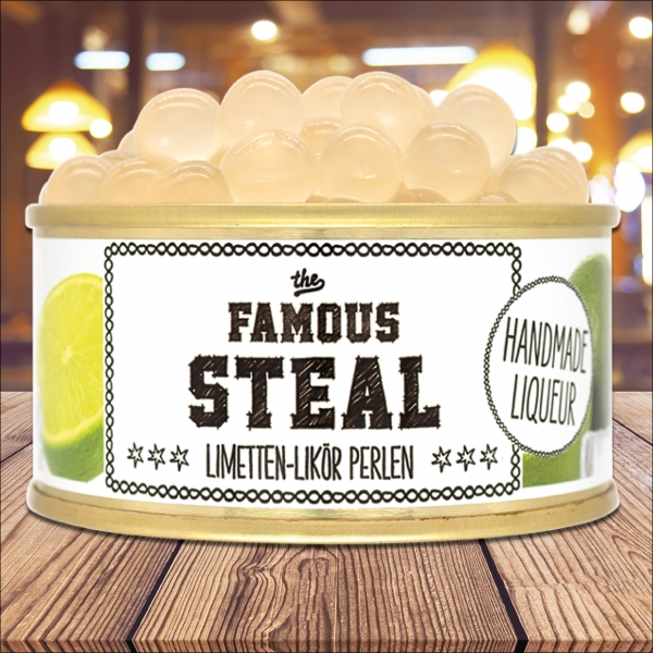 The famous steal - Limettenlikörperlen